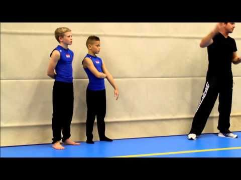 Scott hann coach of mens gymnastics Bevan Brinn - YouTube