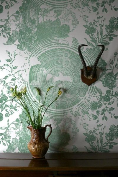 8.12.14 - Today's Featured pattern is Timorous Beasties' 'Tree of Life Solid Wallcovering'.  Also featured on our blog today! http://www.patternsnap.com/patternsnap-loves-a-well-wrapped-christmas/