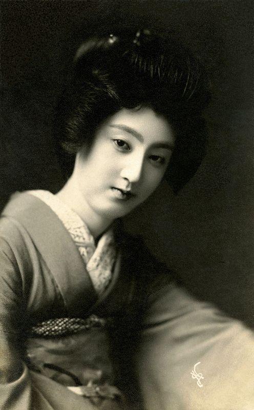 Japan. Geisha Sakae (さかえ)1910s