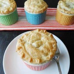 Mini Apple Ginger Brandy Pies | Supper Time!!! | Pinterest
