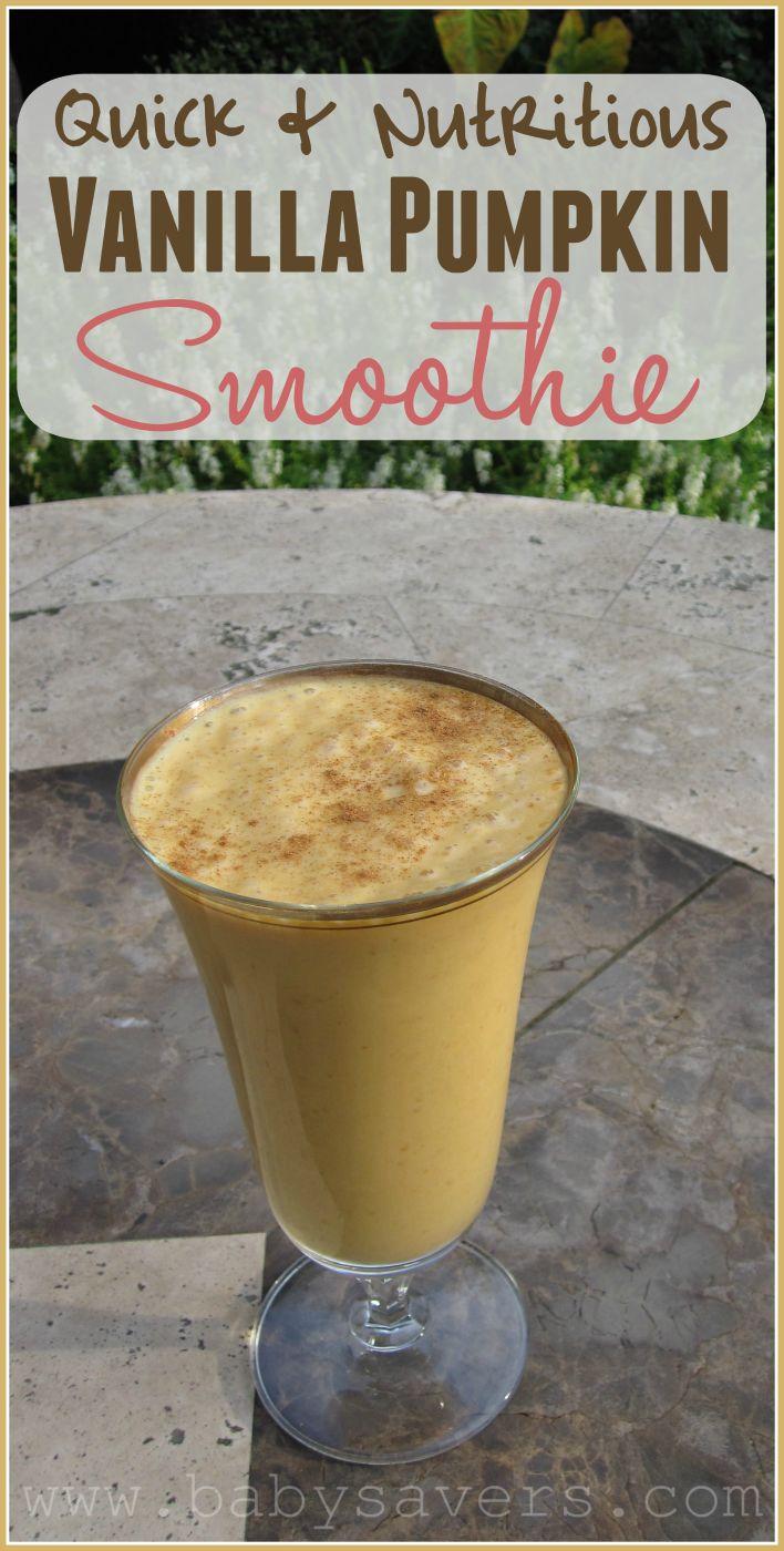 The Perfect Vanilla Pumpkin Smoothie: A Quick & Nutritious Recipe