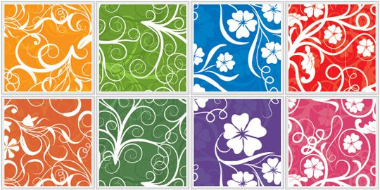 Lots of seamless patterns