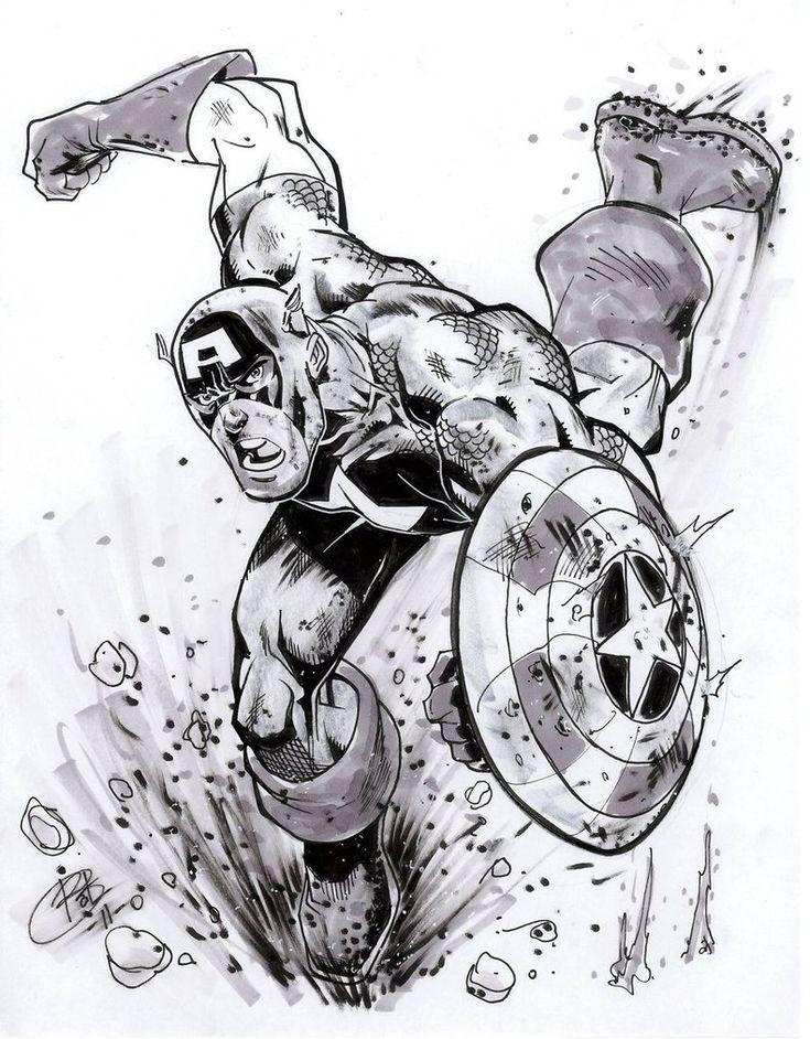 Line Art America : Best avengers captain america images on pinterest