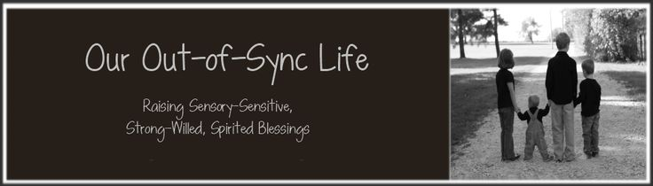 Our Out-of-Sync Life  Raising Sensory-Sensitive, Strong-Willed, Spirited Blessings