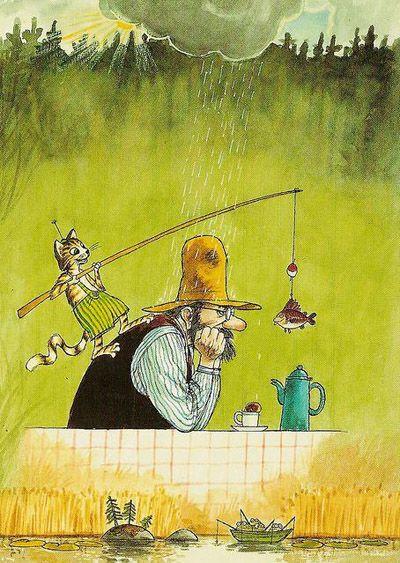 """Интервью для журнала """"Афиша"""" от 25.06.2012..Свен Нурдквист — У шведов лучшая в мире детская литература, — вы тоже так думаете?..— Да, я так считаю. Наверное, потому, что я вырос в этой среде. Я больше всего люблю картинки, и в книге прежде всего ..."""