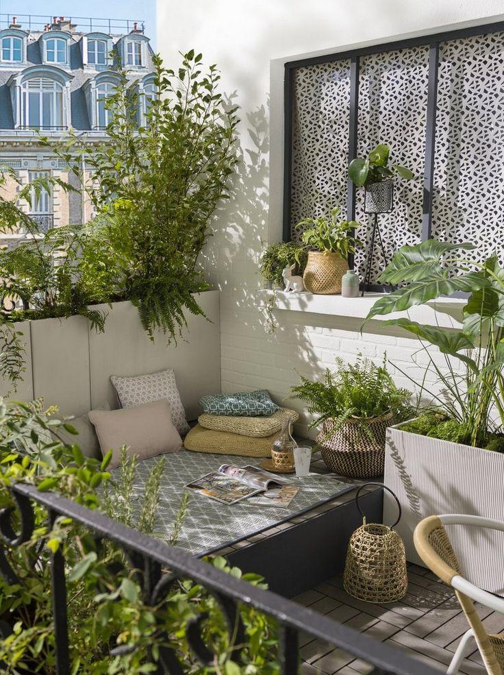 Un coin repos sur une terrasse bohème – Joli Place