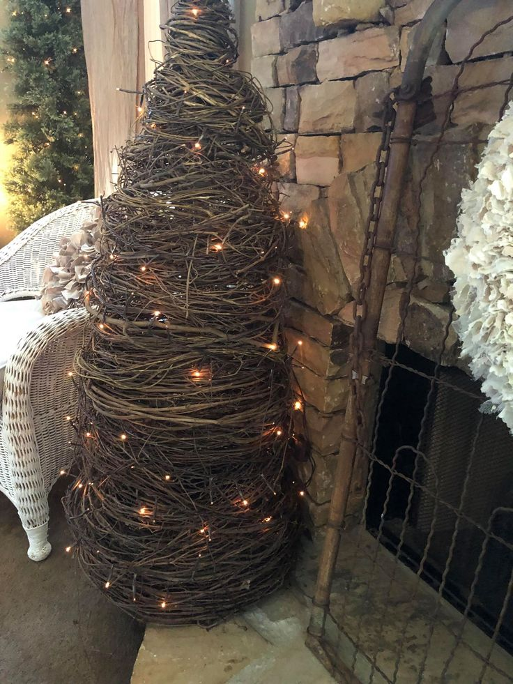 Trees I Keep Up All Year Long - The Shabby Tree | Wooden christmas tree decorations, Christmas ...