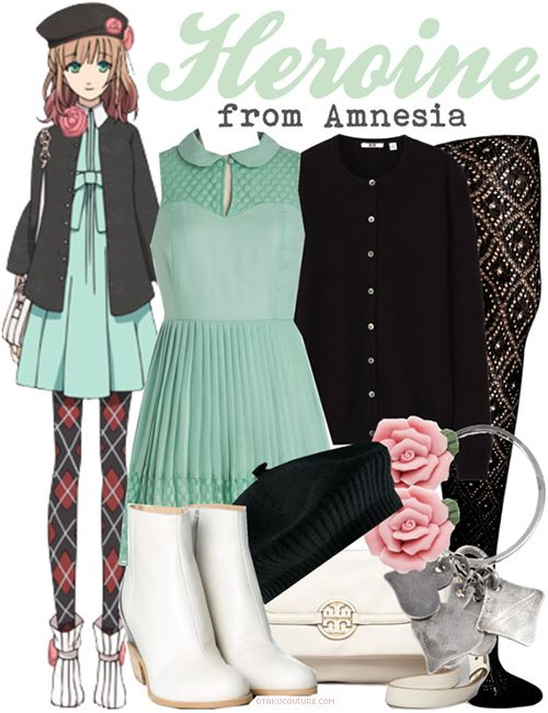 Amnesia Fashion » Heroine [x] To make this more of an everyday outfit, swap the argyle leggings with a pair of patterned tights.