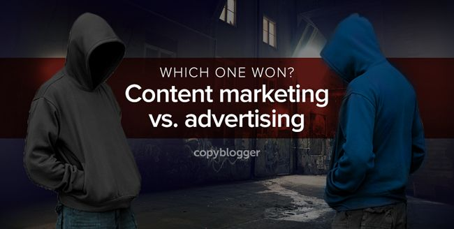 Content Marketing and Advertising Meet in a Dark Alley: Who Wins, and Why? #webdesign >> READ MORE @ http://wp.me/p6hbbv-CW
