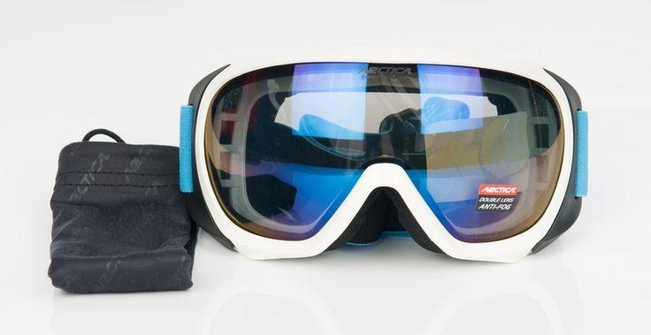 Arctica G-96 B síszemüveg    Sisak kompatibilis! Klasszikus forma!    Az Arctica G-96 B A síszemüveg lencséje polikarbonátból készült. Könnyű, vékony, tartós és ütésálló. A sí- és...