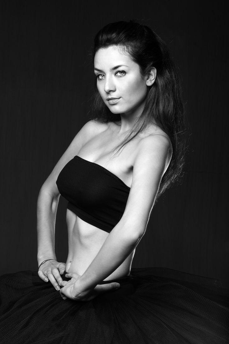 Model: Maria Ronzhina Photographer: Ksenia Belova #model #ballerina #tutu #blackandwhite #fashion