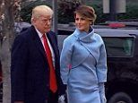 Melania Trump channels Jackie Kennedy at inauguration   Daily Mail Online