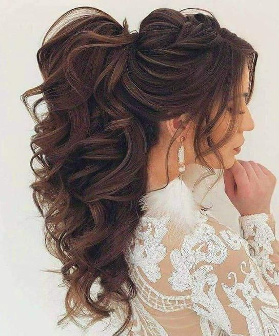 30 Stunning Wedding Hairstyles Ideas In 2019: 30 Beautiful Ponytail Hairstyles Ideas For 2019