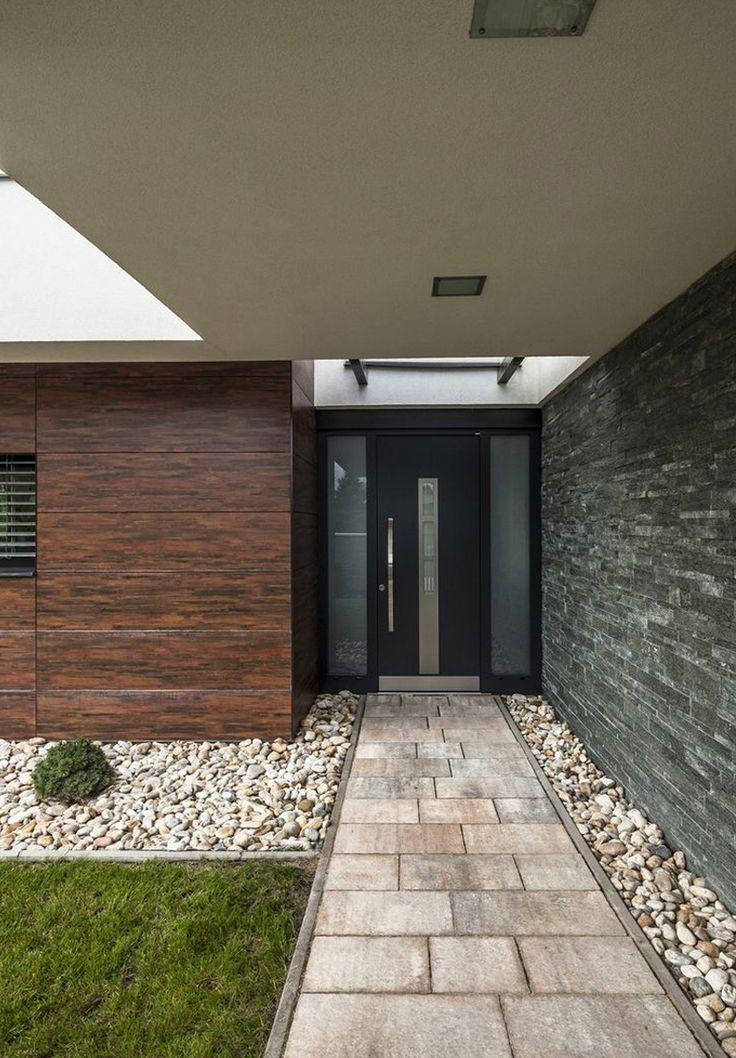 Black Front Door: