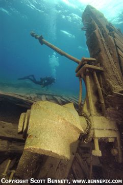 Scuba Diving in Tobermory - Historic Shipwrecks in Clear Water