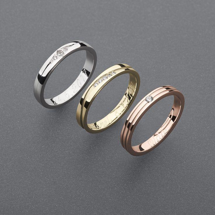 Je jen na Vás ... Váš pocit, Váš styl, Vaše barva wedding rings white,pink,yellow gold