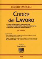 Codice del lavoro: disciplina nazionale fondamentale, disciplina fondamentale dell'Unione europea, rassegna normativa per argomento / a cura di Diego Solenne