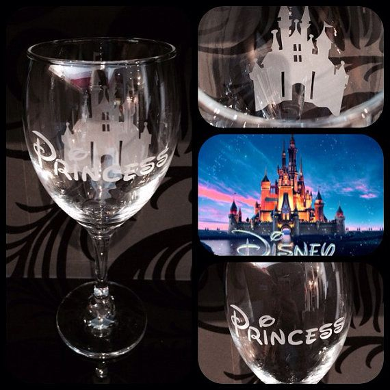 Disney Frozen Named Glass
