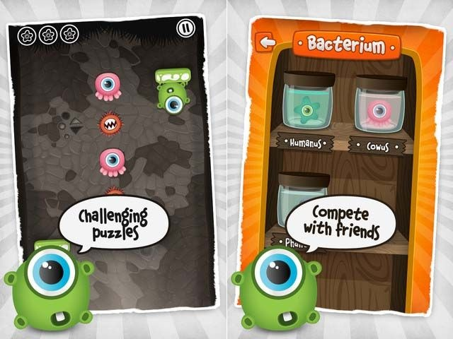 Puzzle Game Nose Invaders for iPhone and iPod Touch