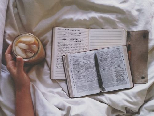 Iced coffee and some reading is how a Sunday's morning should be spent.