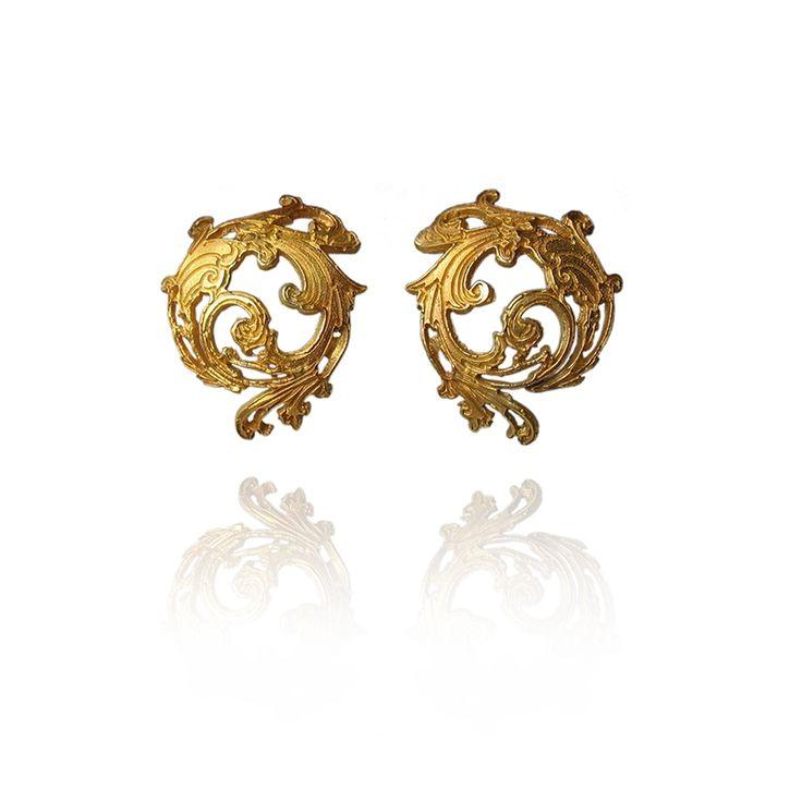 Efektowne, eleganckie kolczyki / Dorota Kos / Biżuteria / Kolczyki
