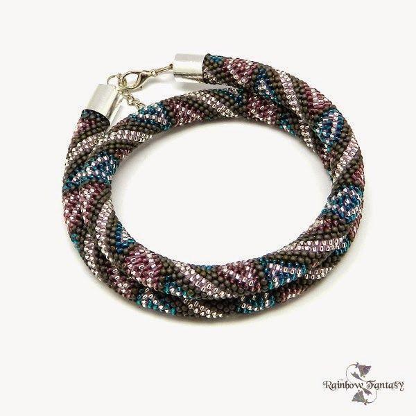 www.polandhandmade.pl #polandhandmade , #beading , #necklace