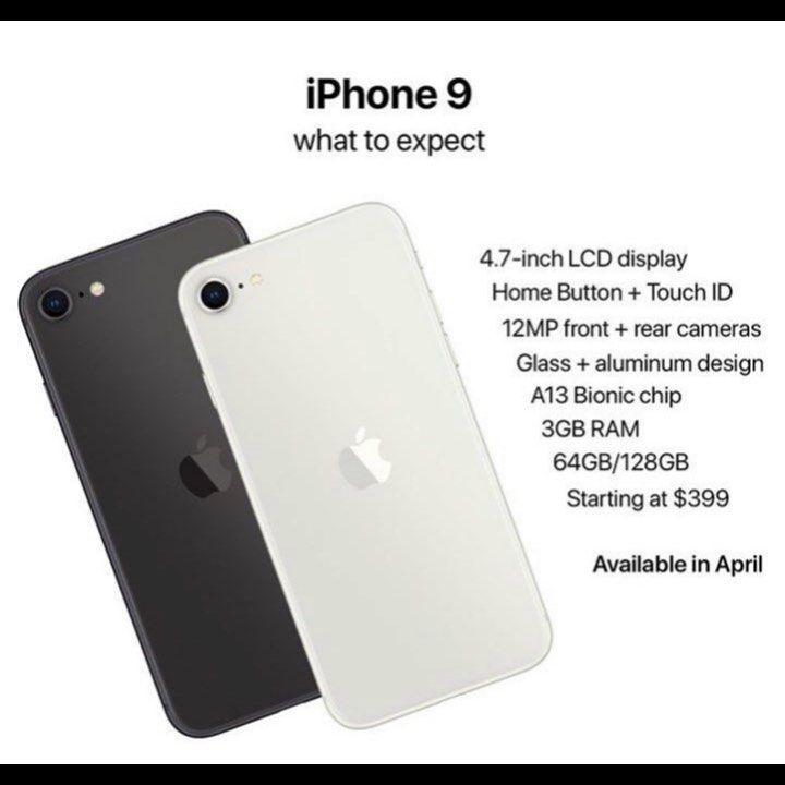 آيفون ٩ شبيه به آيفون ٨ Iphone Electronic Products Phone