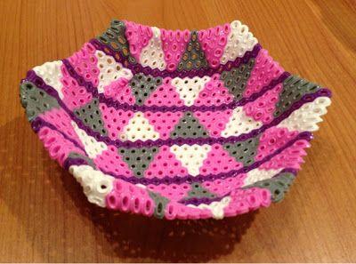 DIY : Bowl hama perler beads by Jean M.