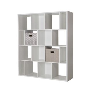 Shop for South Shore Reveal 16-Cube Shelving Unit with 2 Fabric Storage Baskets. Get free delivery at Overstock.com - Your Online Furniture Shop! Get 5% in rewards with Club O!