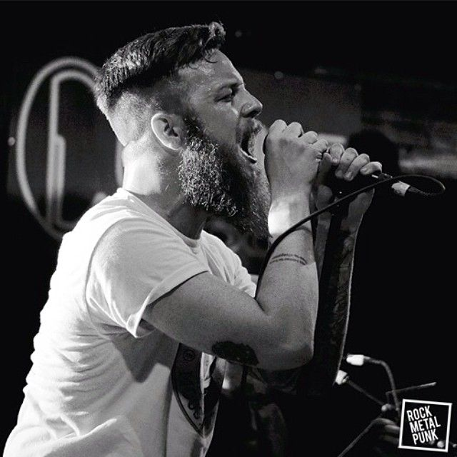 Rody Walker, vocalist of #ProtestTheHero // March 27, 2014 // Revolution Live, Fort Lauderdale, Florida (USA) // Shot by Joshua Stronko.