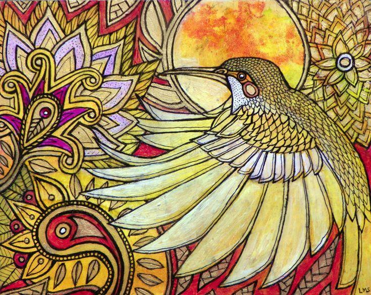 Images of art by lynnette shelley hummingbird flower art by lynnette
