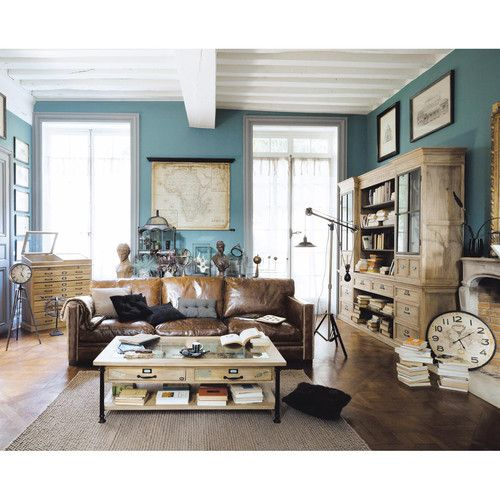 ledersofa 4 5 sitzig braun home design brown. Black Bedroom Furniture Sets. Home Design Ideas