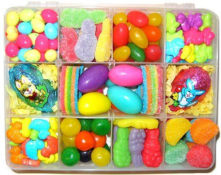 76 best easter baskets cadeaux pques images on pinterest net assortment of easter chocolate and candy gift baskets negle Choice Image