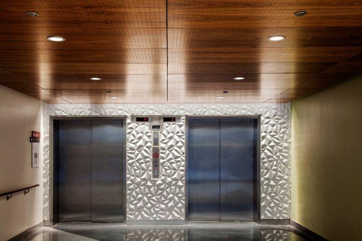 Wood Ceiling Tile Floor