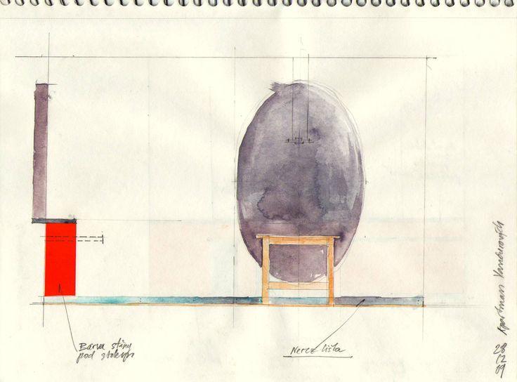 ecovastudesign / Vančura's Apartment / Dinning space design