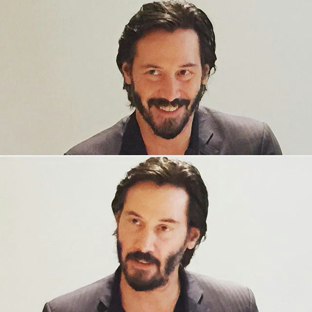 Keanu Reeves - Knock Knock press day - October 03, 2015