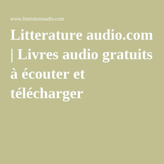 Litterature audio.com | Livres audio gratuits à écouter et télécharger