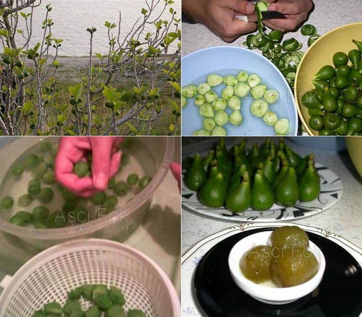 Yeşil Ham İncir Reçeli Tarifi - Yemek Mutfak