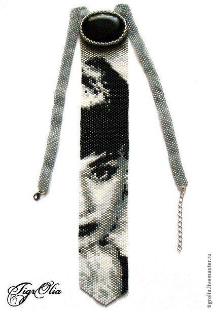 """Галстуки, бабочки ручной работы. Ярмарка Мастеров - ручная работа Галстук """"Audrey Hepburn-2"""". Handmade."""