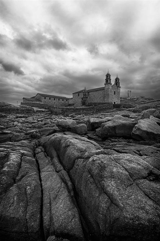 Virxe da Barca Sanctuary in Muxia, Spain