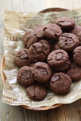 サックサク♡チョコクッキー
