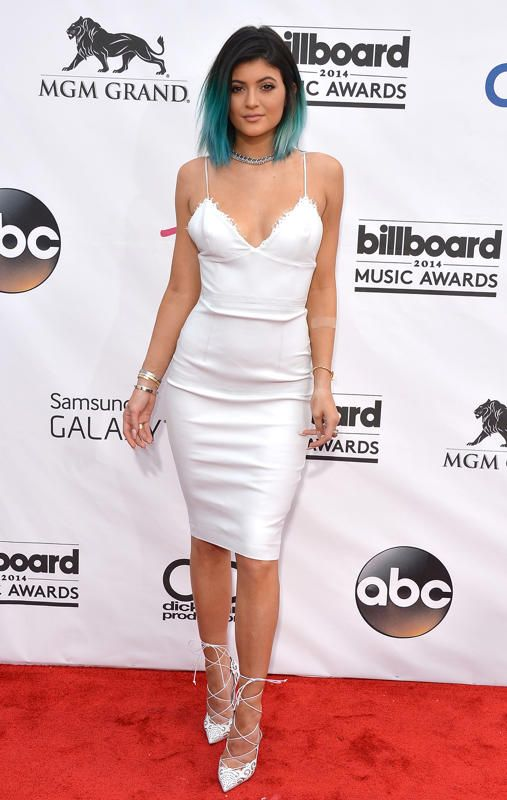 Kylie Jenner- I love the dress and shoes
