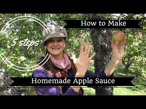 This video is about How To Make Organic Apple Sauce.