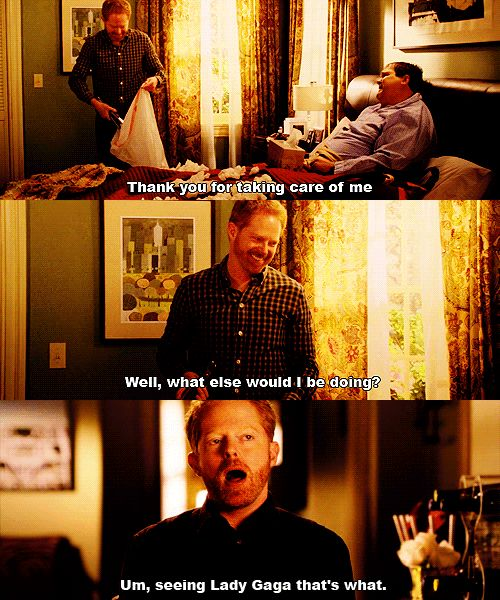 """Because they would make huge sacrifices if you were ill. 