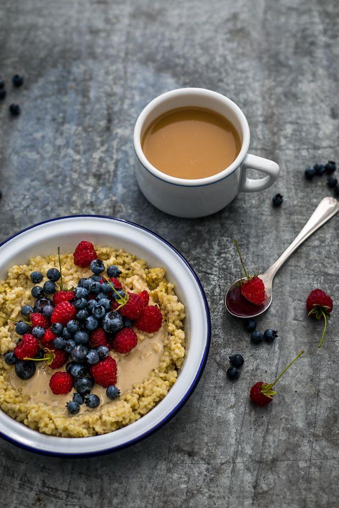 Millet breakfast - vegan!