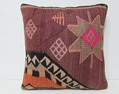 20x20 primitive kilim pillow gypsy fabric home furnishings extra large throw pillow kilim cushion cover rustic bedroom bench cushion 26207