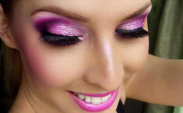Party Makeup| 15 Pink and Purple Makeup Ideas | Pretty Designs