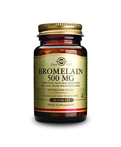 Solgar Bromelain Tablets, 500 mg, 30 Count >>> For more information, visit image link.