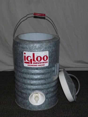 Vintage igloo large 3 gallon industrial drinking water - Igloo vintage ...