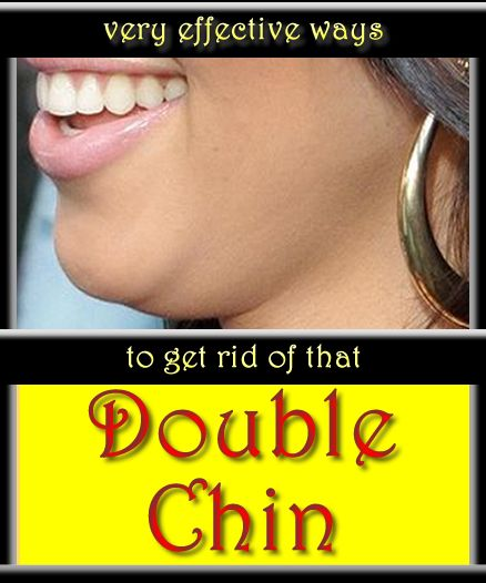 One of the most common physical markers of aging may be a double chin. GET RID OF IT!